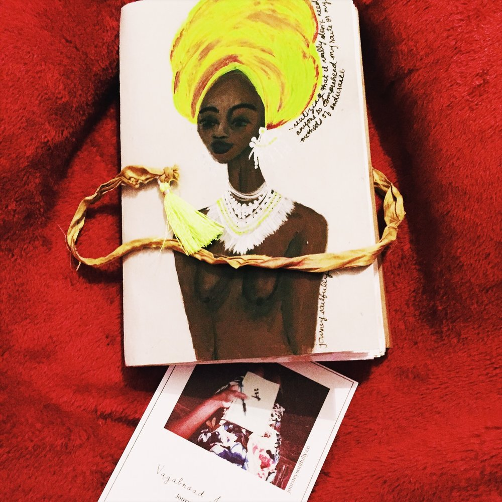 """Danesha's Mantra Cahier from the """"Une Lettre"""" series..."""
