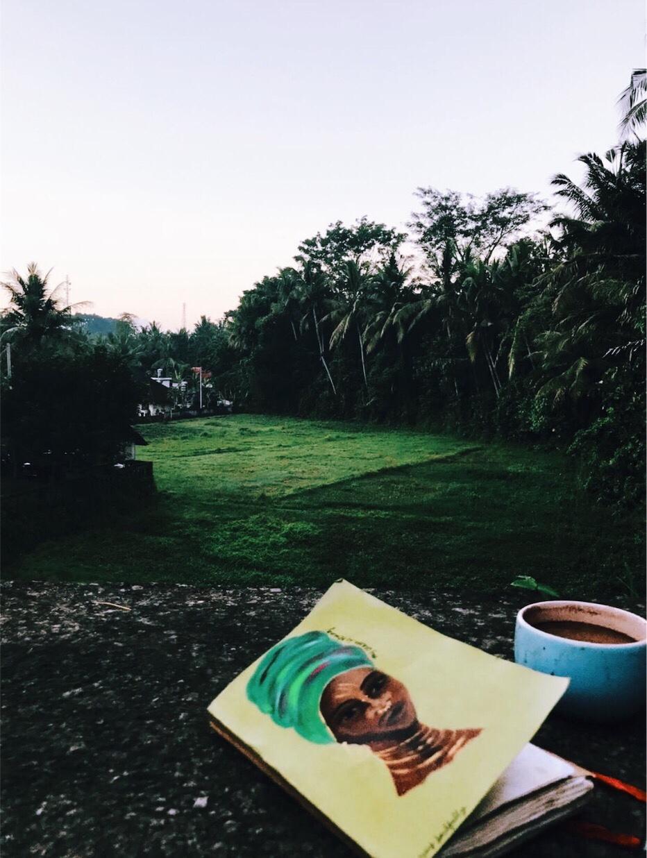 Nichole in Bali.