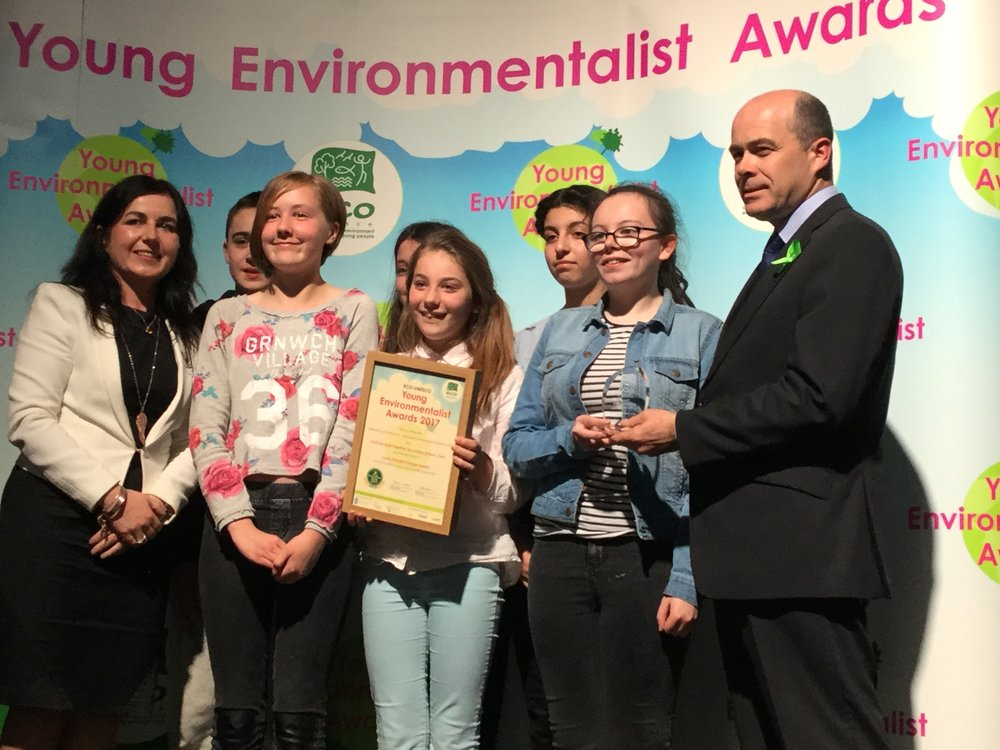 Young Environmentalist award Winners