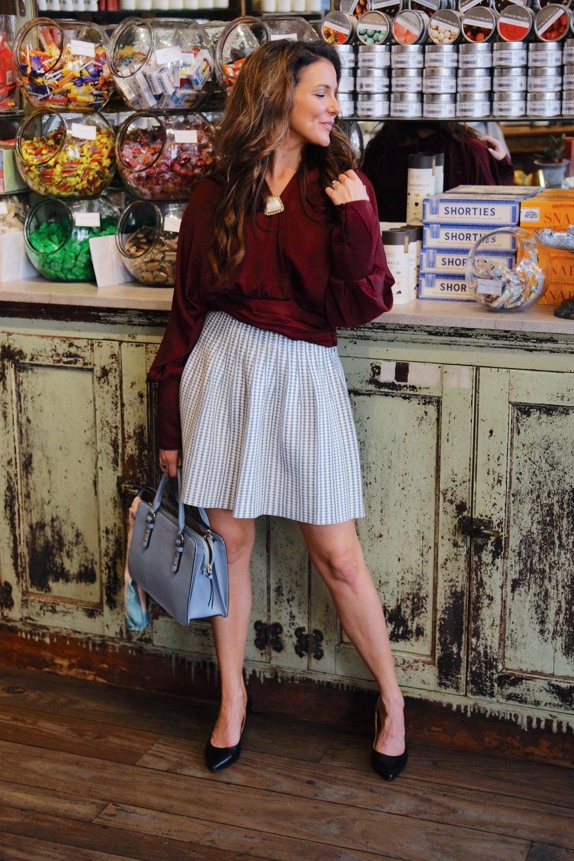Candy at Paris Market with Brenna Lauren Michaels