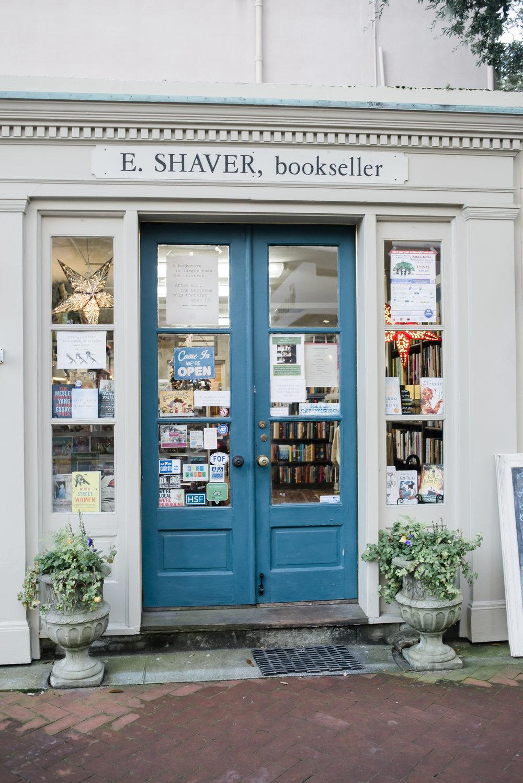 E. Shaver Bookstore, Savannah GA