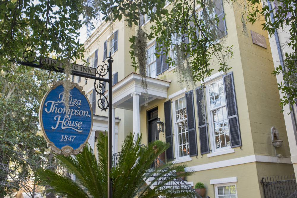 The Eliza Thompson House, Savannah, GA | Genteel & Bard