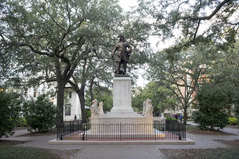 Chippewa Square, Savannah GA | Genteel & Bard