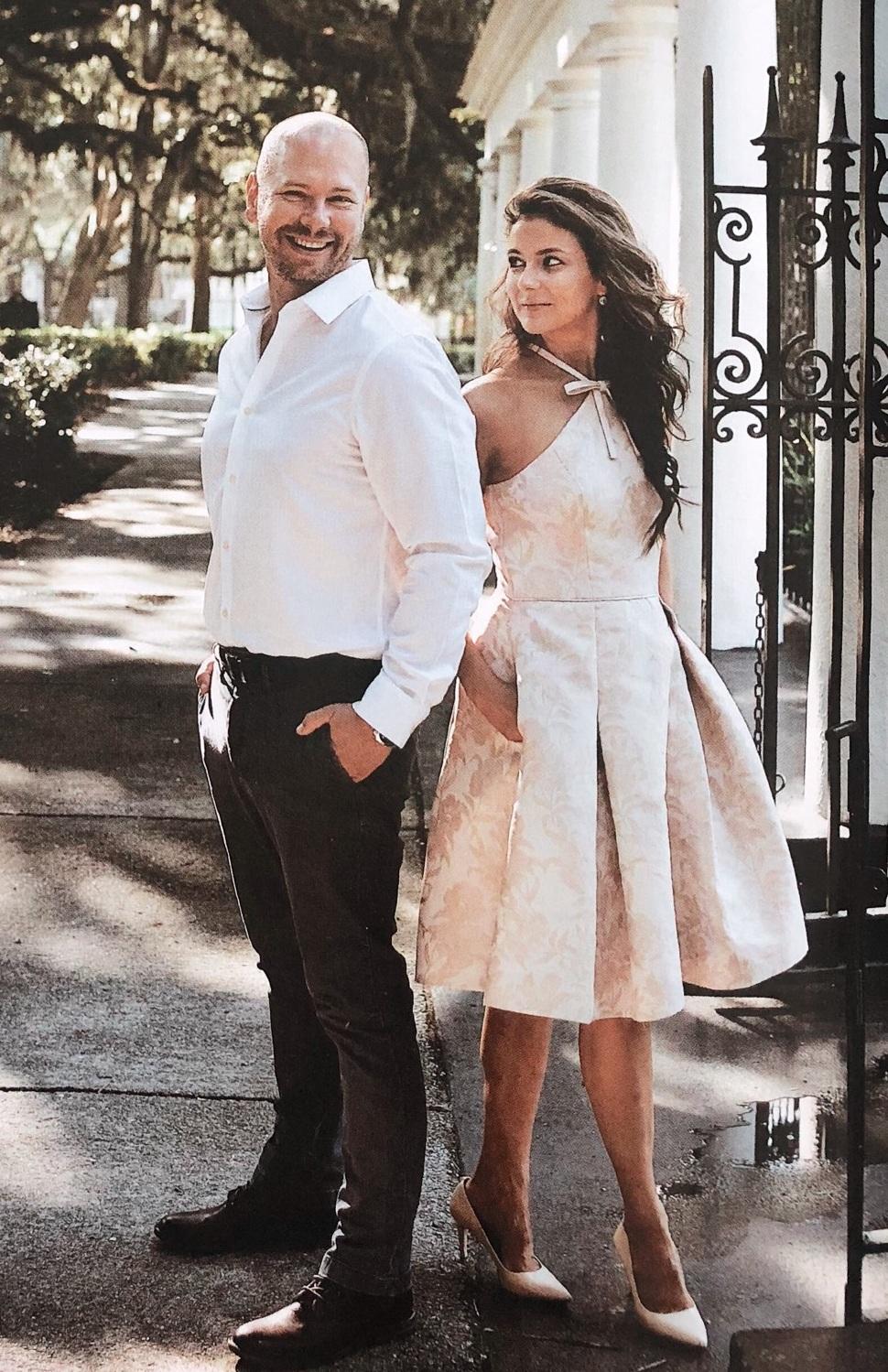 T.C. & Brenna Michaels | Owners of Genteel & Bard Fine Savannah Walking Tours