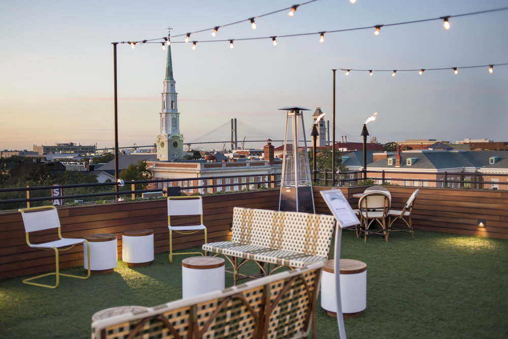 The Peregrine Rooftop Bar, Savannah GA | Genteel & Bard