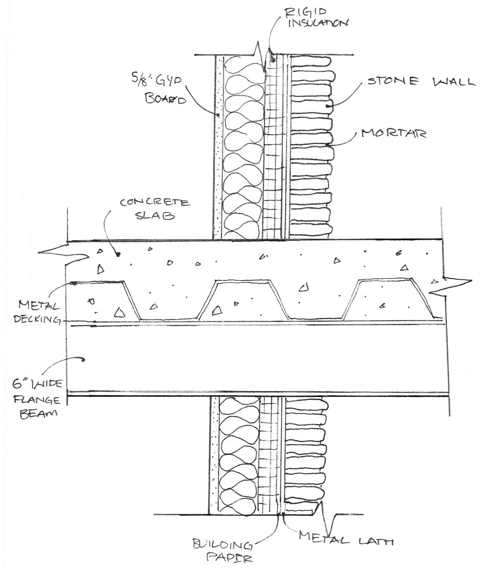 Architectural drawings erin weinberg art design for Architectural detail drawings