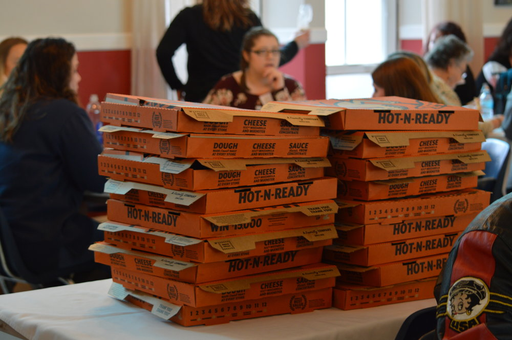 WCMAR2018 lunch room pizza.jpeg