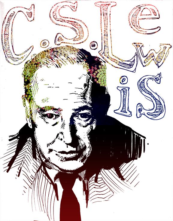 CS Lewis portraitopt