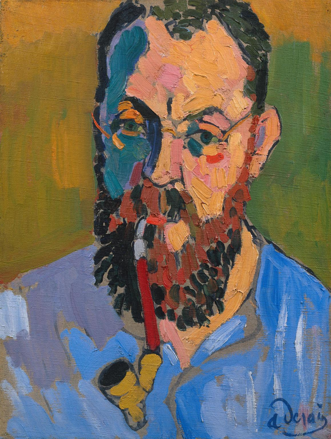 Henri Matisse 1905 Andr? Derain 1880-1954 Purchased 1958 http://www.tate.org.uk/art/work/T00165