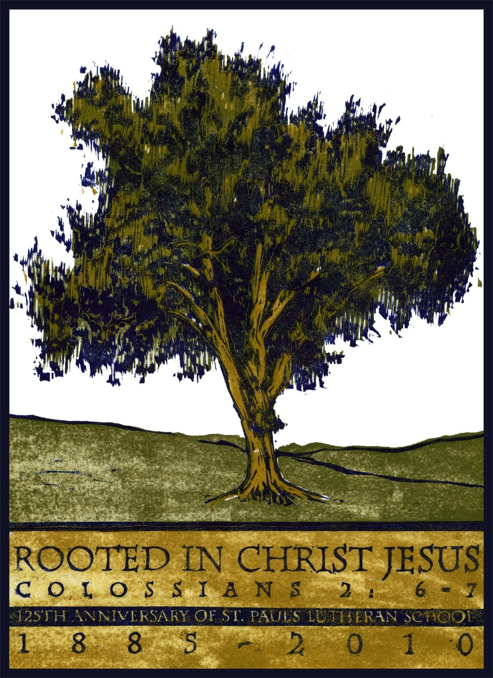 """Rooted In Christ"" Print"