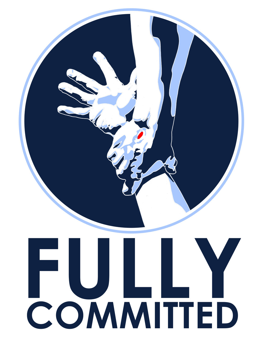 """Fully Committed"" Logo"