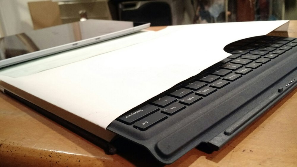 Keyboard storage.