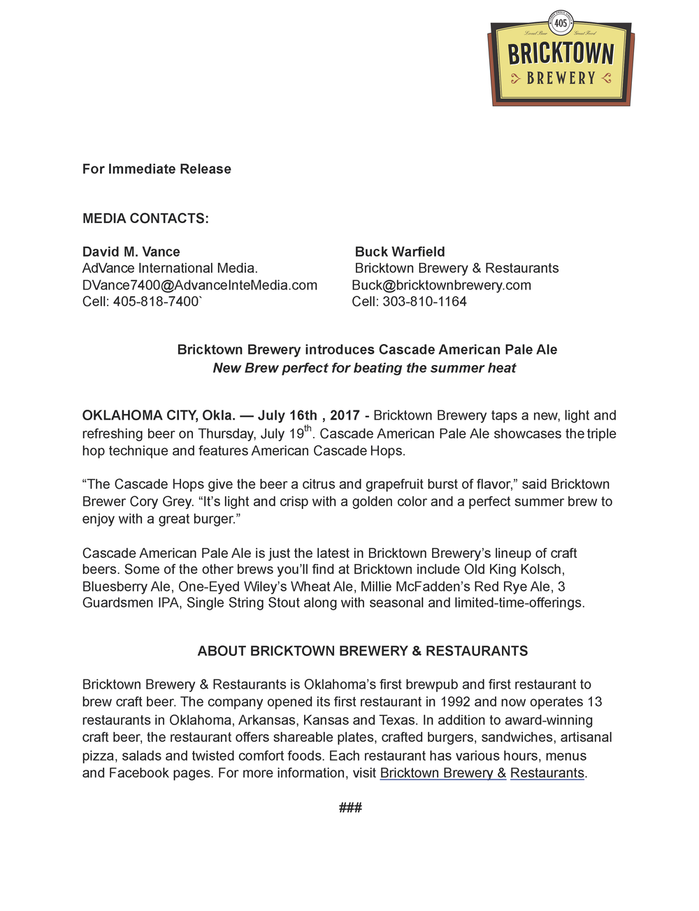 Cascade American Pale Ale - Media Release .png