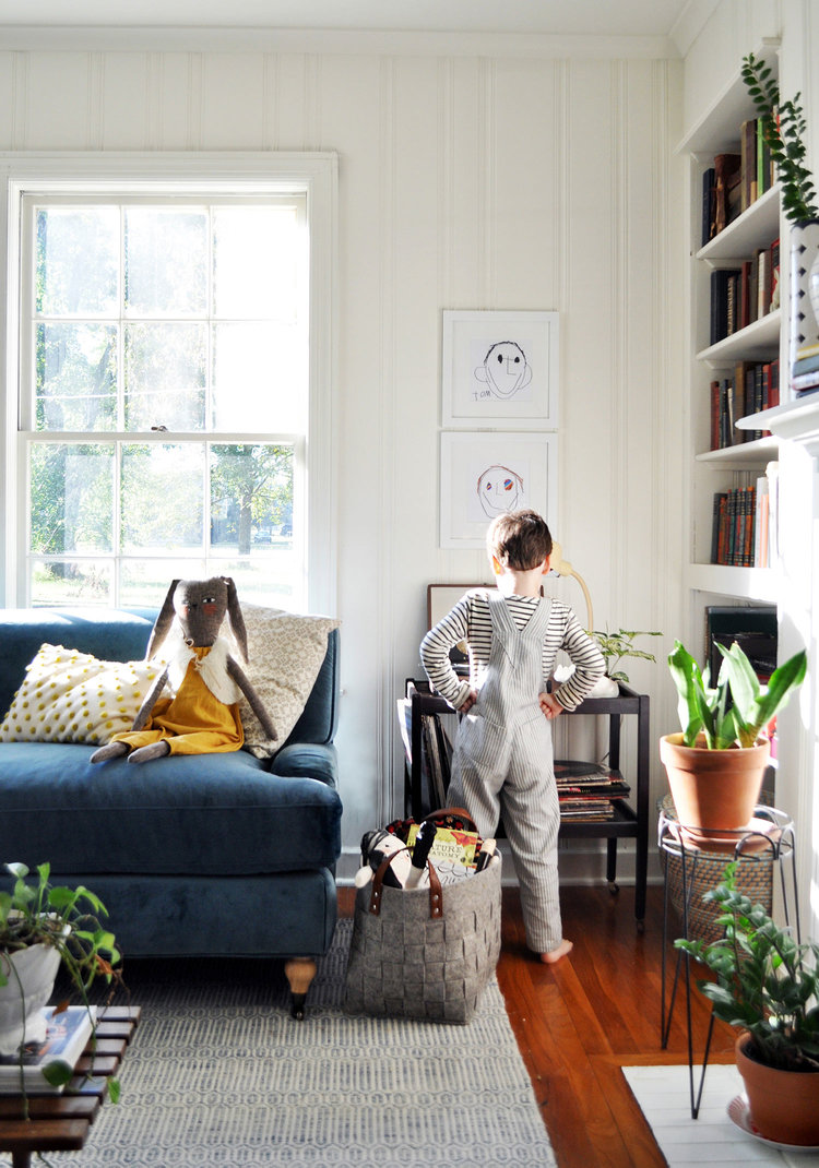 A HAPPIER LIVING ROOM FOR HAPPIER LIVING — Hannah Carpenter