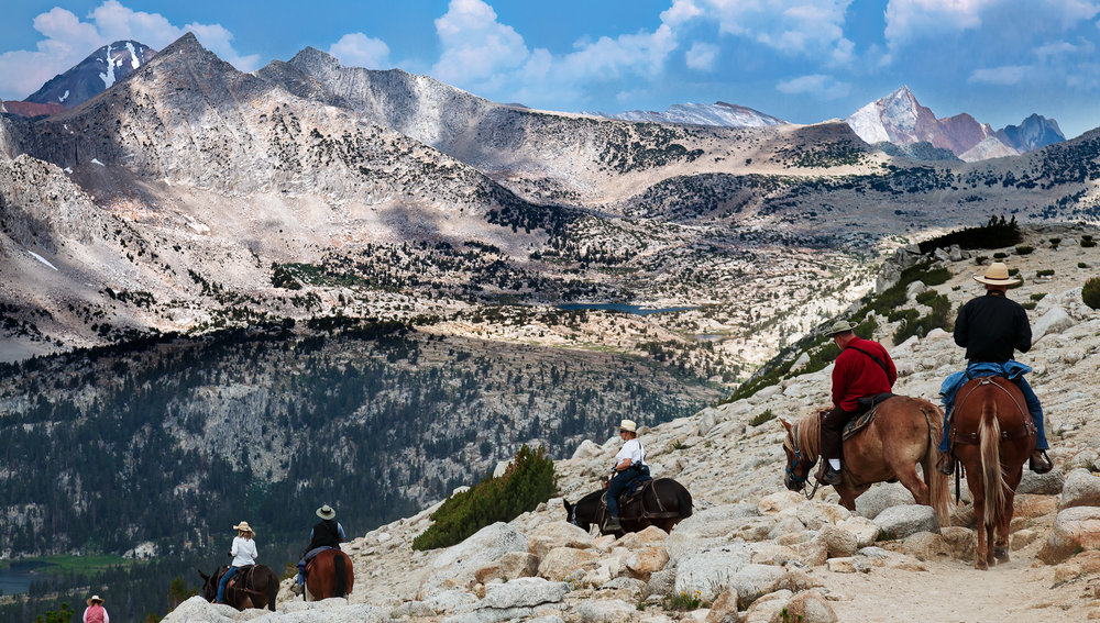High Sierra on Horseback