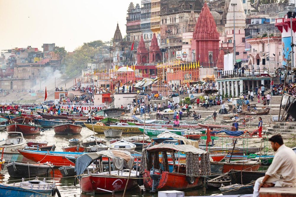 """Varanasi is older than history, older than tradition, older even than legend, and looks twice as old as all of them put together."" - Mark Twain"