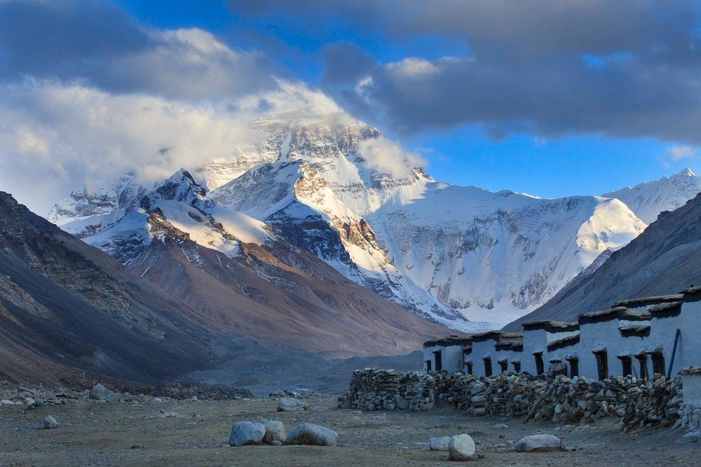 Mt. Everest & Rongbuk Monastery, Tibet