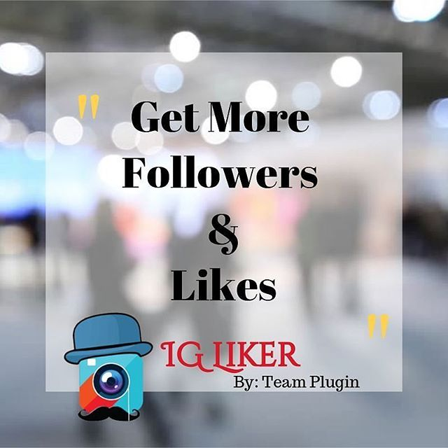 FREE plugin we developed for @teamplugin -  Get FOLLOWERS & LIKES Asap.  Automates likes on Instagram, engaging your audience . Awesome tool.  Get it forFREE HERE.  www.teamplugin.com @teamplugin @teamplugin @teamplugin @teamplugin  #igliker #teamplugin #instagram #automation #speed #likes #followers #getfollowers #software #famous #ig #socialmedia