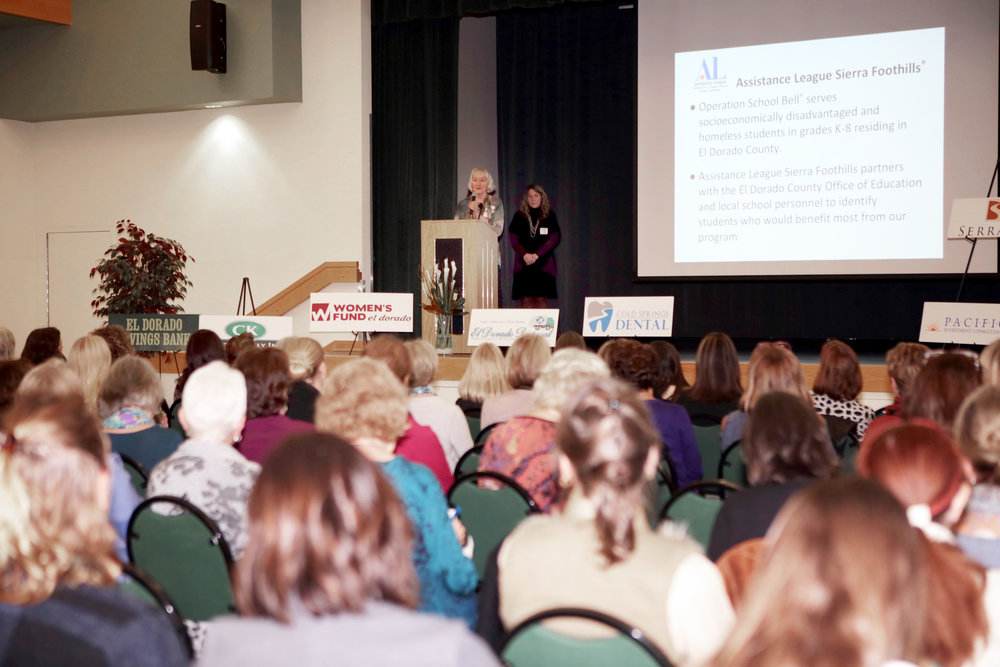 Photo 2_Assistance League Sierra Foothills presenting their grant program to members and guests..jpg