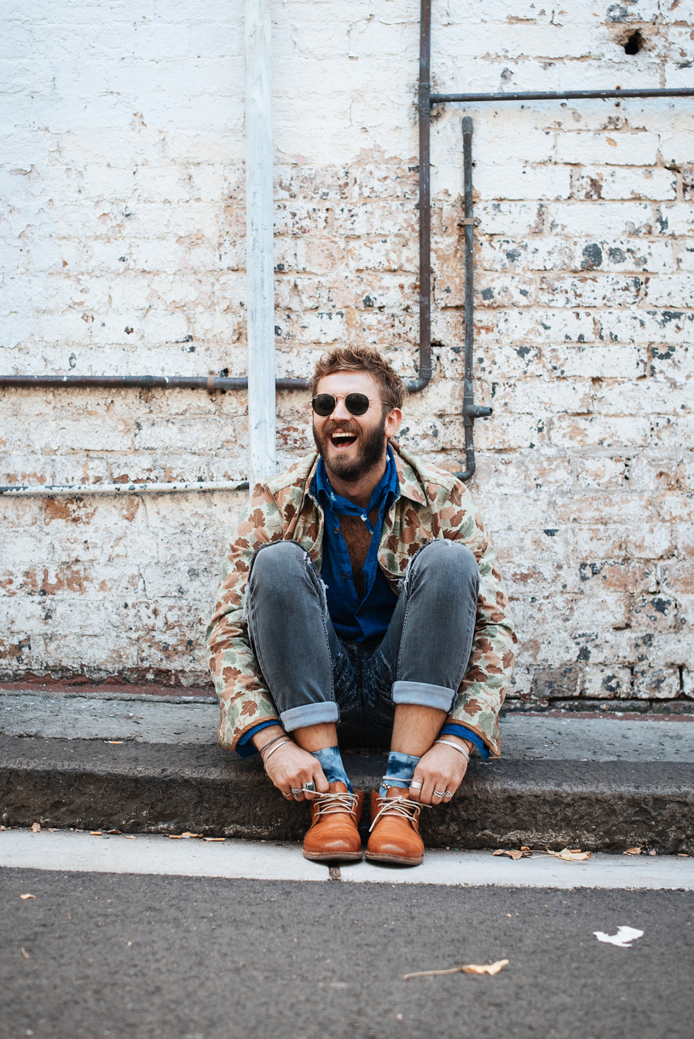 #FINDYOURMAGIC Jules Tognini wears the blue bandana and tie-dye socks from his Find Your Magic Collection, available exclusively at The MITT Mrkt. All proceeds from the Find Your Magic Collection will be made to LYNX's charity partner, I-Manifest.