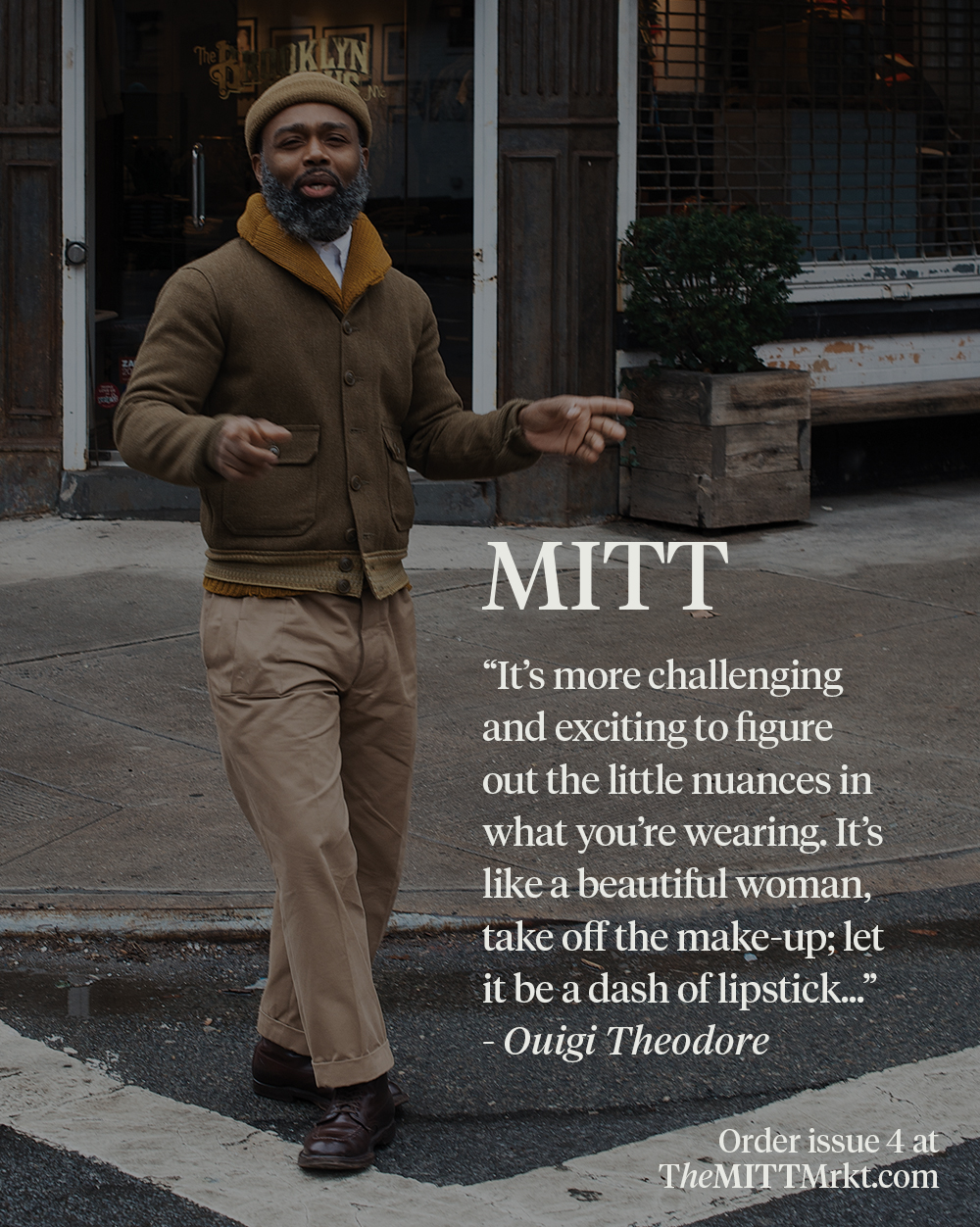 MITT magazine issue 4 ships out later this week! If you haven't pre-ordered your copy yet, head over to The MITT Mrkt. :)