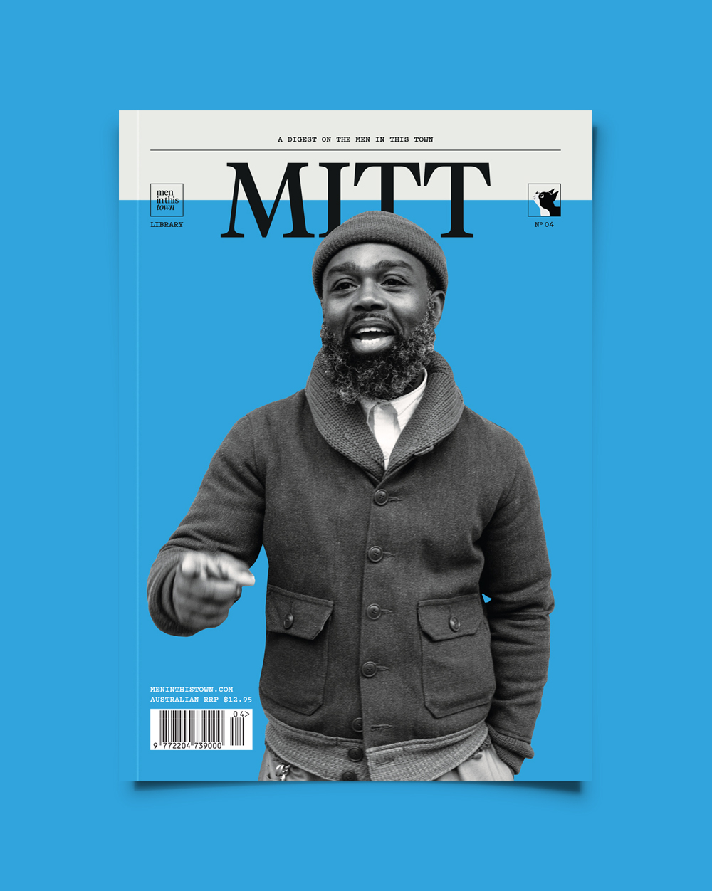 HERE IT IS, MITT MAGAZINE ISSUE 4!   It's been a few months coming but it's finally here,   MITT   magazine  issue 4  with  Ouigi Theodore  on the cover, is now available to pre-order at   The MITT Mrkt  .   After getting the third issue out last September, I decided to go independent in publishing the magazine. There were a couple of hurdles to overcome but with the help of some amazing contributors, we've put together one of the best issues yet and I couldn't be more proud. The pages have been sent to the printer, proofs will arrive early next week and then off to the presses!  Pre-orders and subscribers (offered for a limited last year) will have their copies sent out starting  March 24th  and  stockists  will start receiving stock in early April.  Thank you again for all of your support, I'm so excited for you to get your mitts on this issue and when you do, I really hope you love it as much as I do.  Cheers, Giuseppe