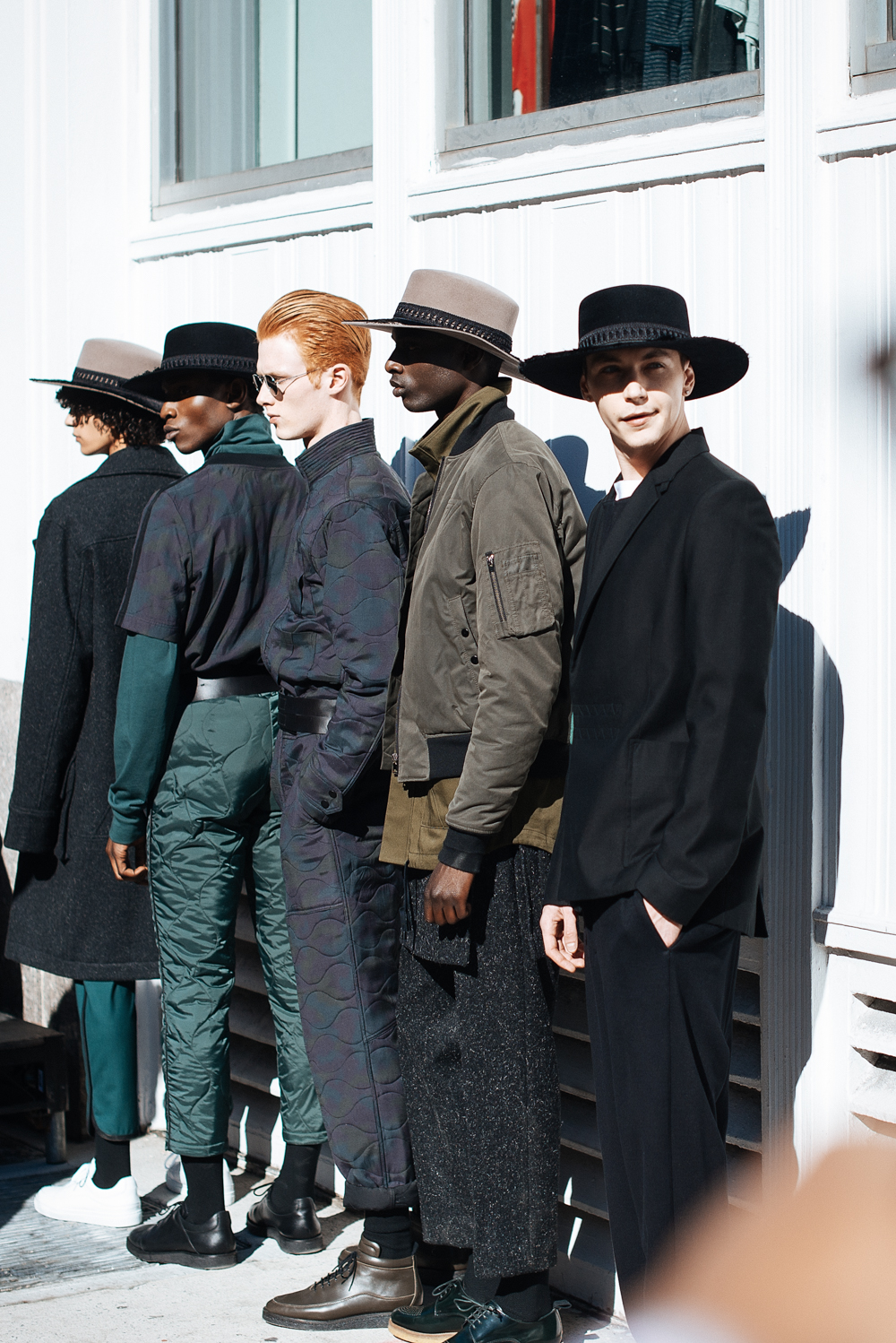 Public School presentation during New York Fashion Week: Men's.