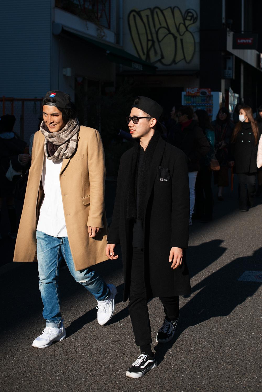 Long coats.