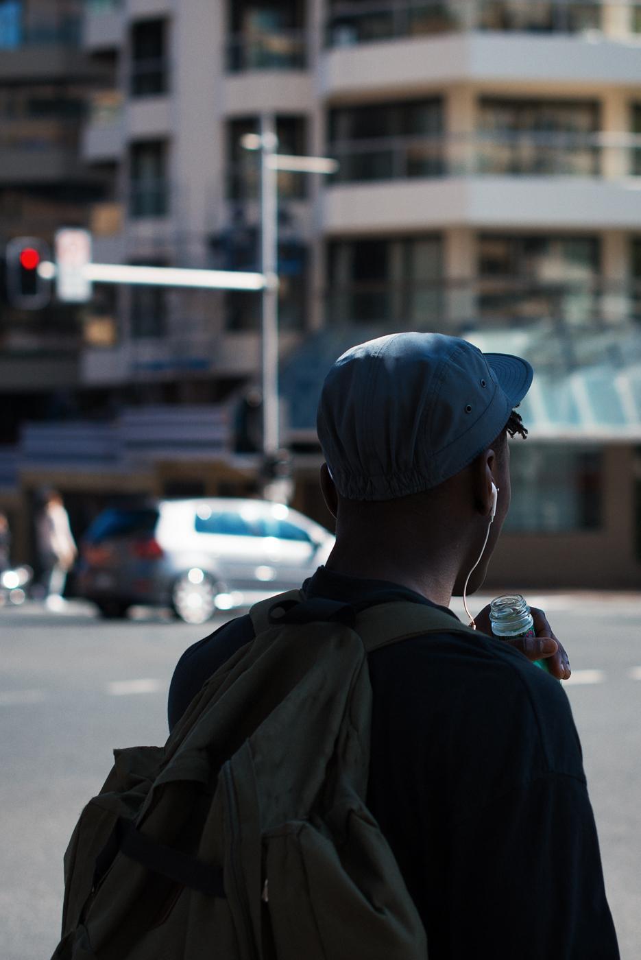 Blue cap. Similar look: ASOS 5 Panel Cap.