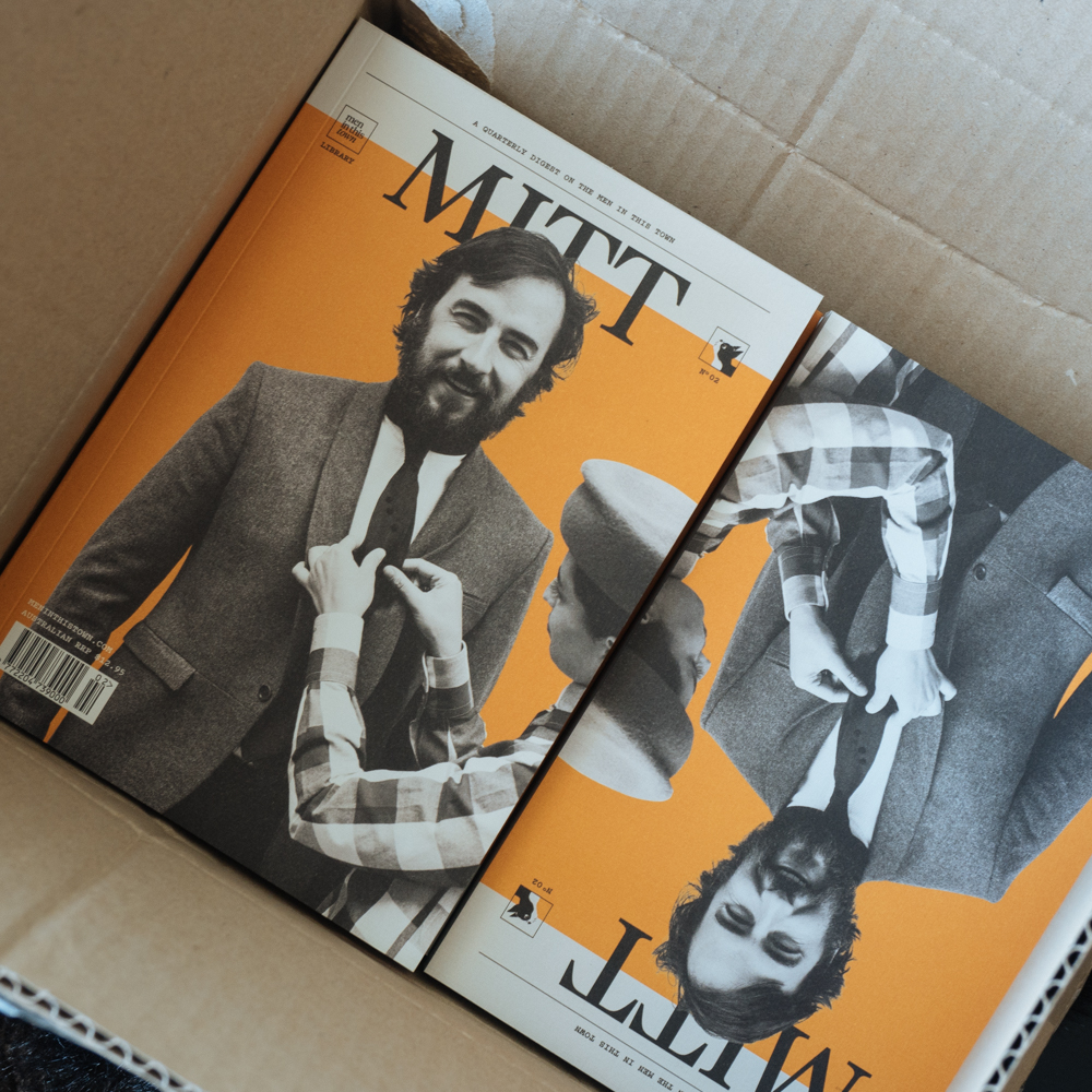 First copies of MITT magazine‬ issue 2 have arrived! Taking international pre-orders now at The MITT Mrkt, hits ‪Australian‬ newsstands June 11th.