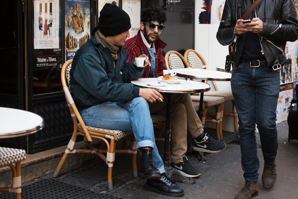 Cafe days.