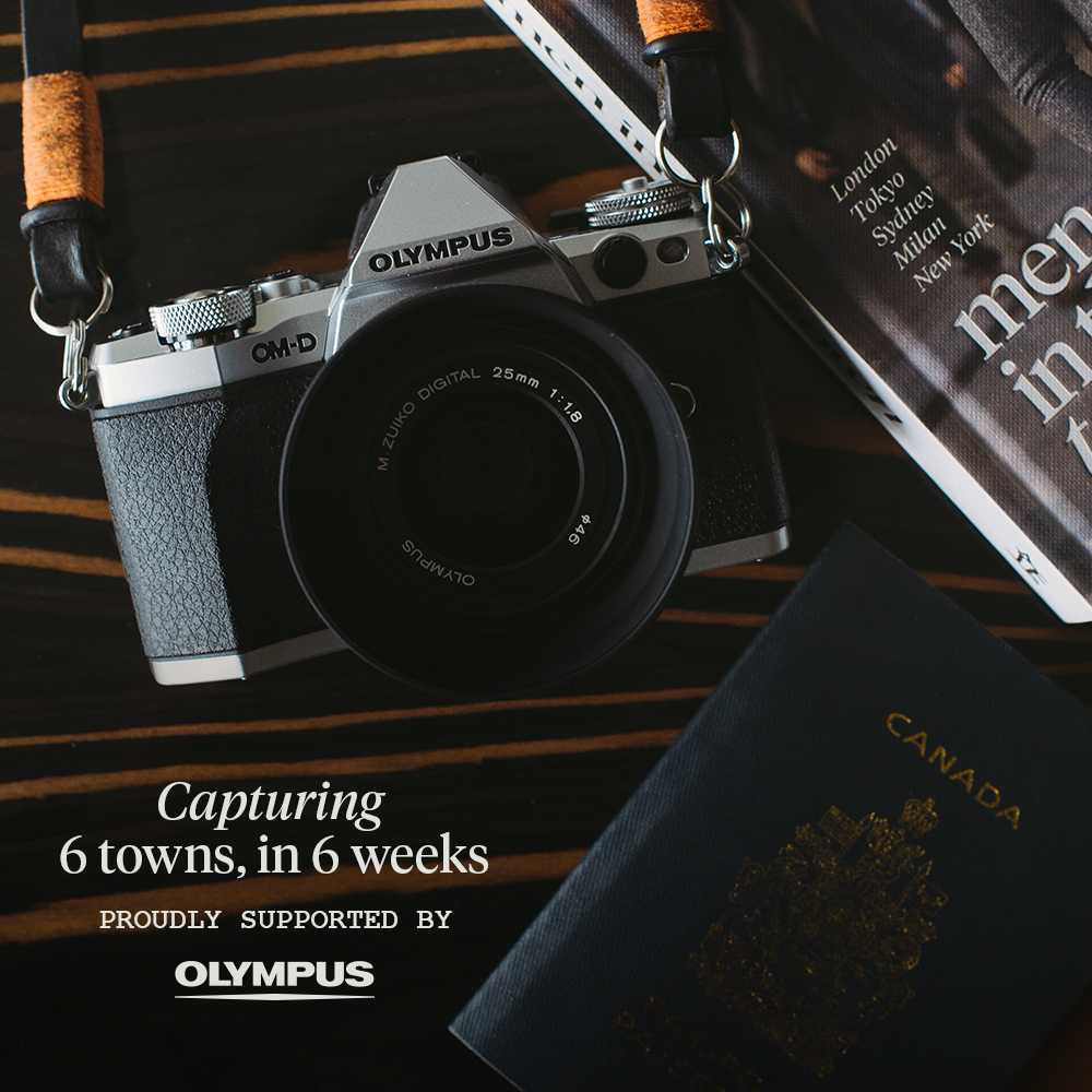 With the amazing support of  Olympus , I'm really excited to announce that I'll be travelling around the world for six weeks, visiting six different towns to work on my upcoming  Women In This Town  book. I'll be using my  Olympus OM-D E-M5 II  to share my journey with you here on the blog and on   Instagram   and of course photographing the men and women on the streets of  Tokyo ,  London ,  Paris ,  Madrid ,  New York  and  LA . The trip begins on March 16th in Japan and ends April 28th in America.  I hope you enjoy and if I'm going to be in your town and you have any recommendations of places to check out,   hit me up  .
