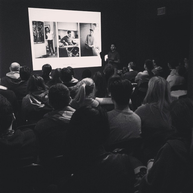 Thank you to everyone who came out today for my talk at the Australian Centre for Photography! Was a full house and it was great to meet so many Sydney readers!