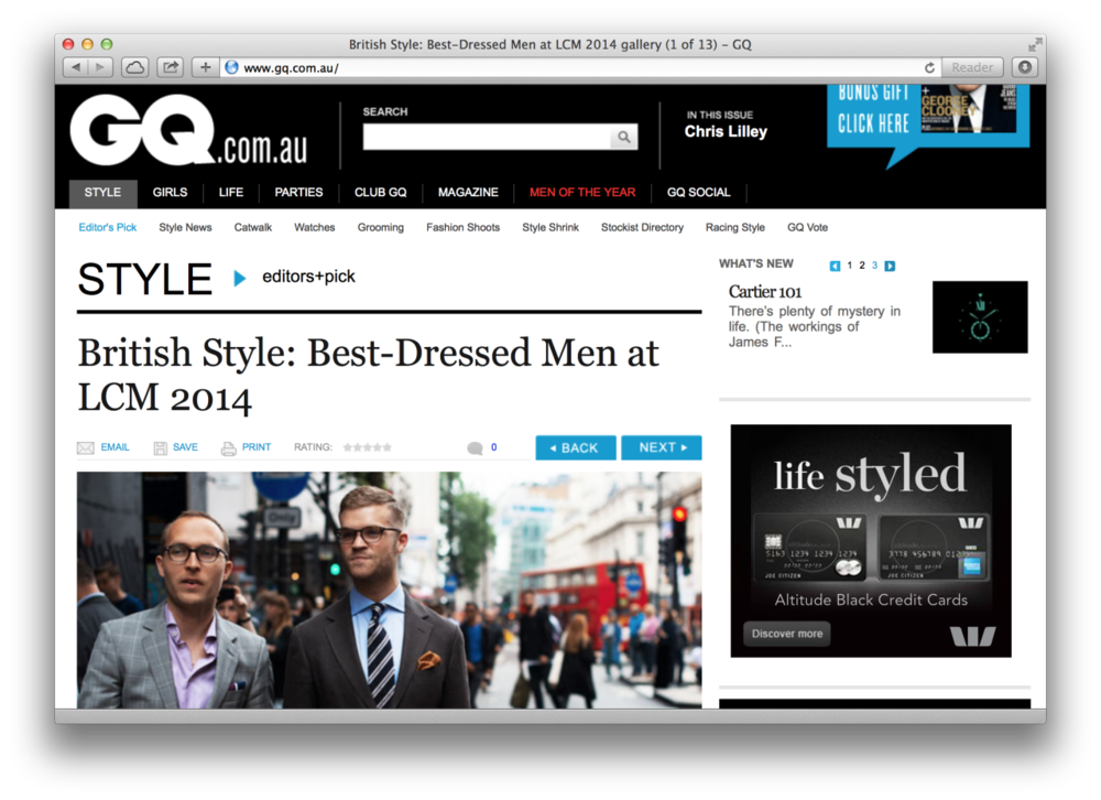 The best street style from the London Collections: Men over at GQ.com.au.
