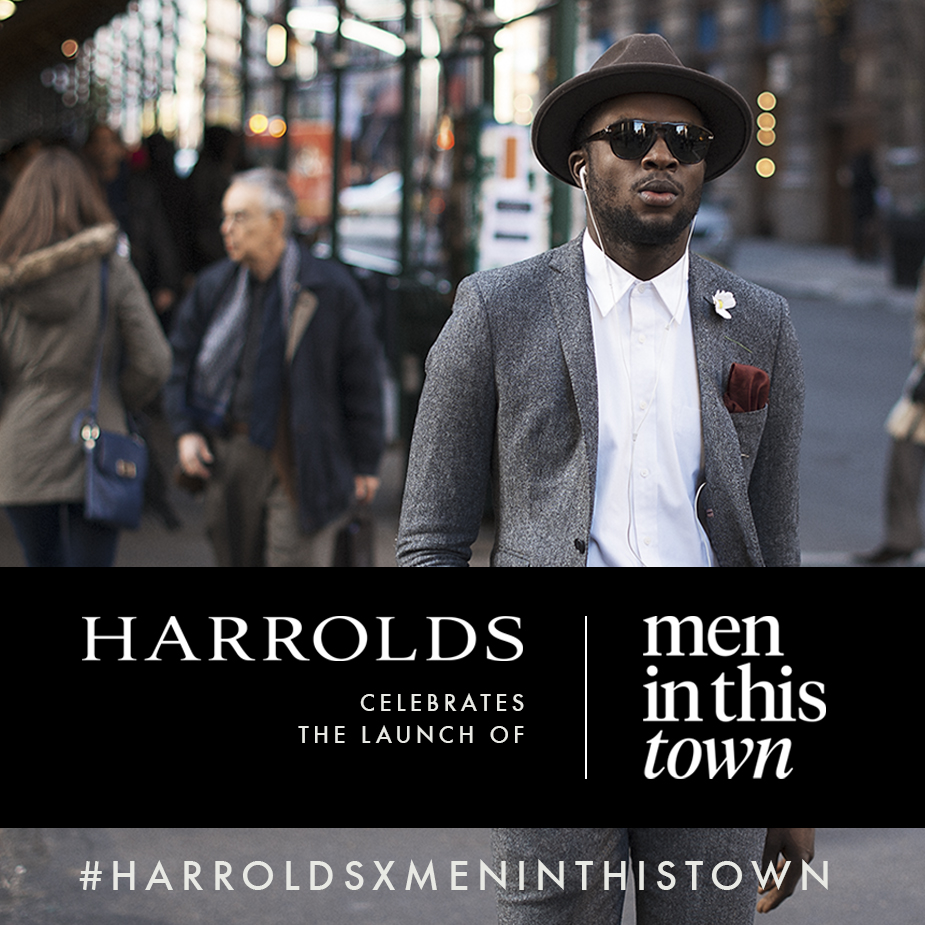 BOOK LAUNCH   In celebration of the Australian release of the   Men In This Town   book next week,  Harrolds  will be hosting the official book launch at their Sydney store on July 9th. To toast the launch, we're giving you a chance to win a signed copy of the book and passes to the Sydney book launch. All you have to do is share your best  s treet style looks on Instagram with the hashtag    #harroldsxmeninthistown    and you're entered! Looking forward to seeing your submissions!