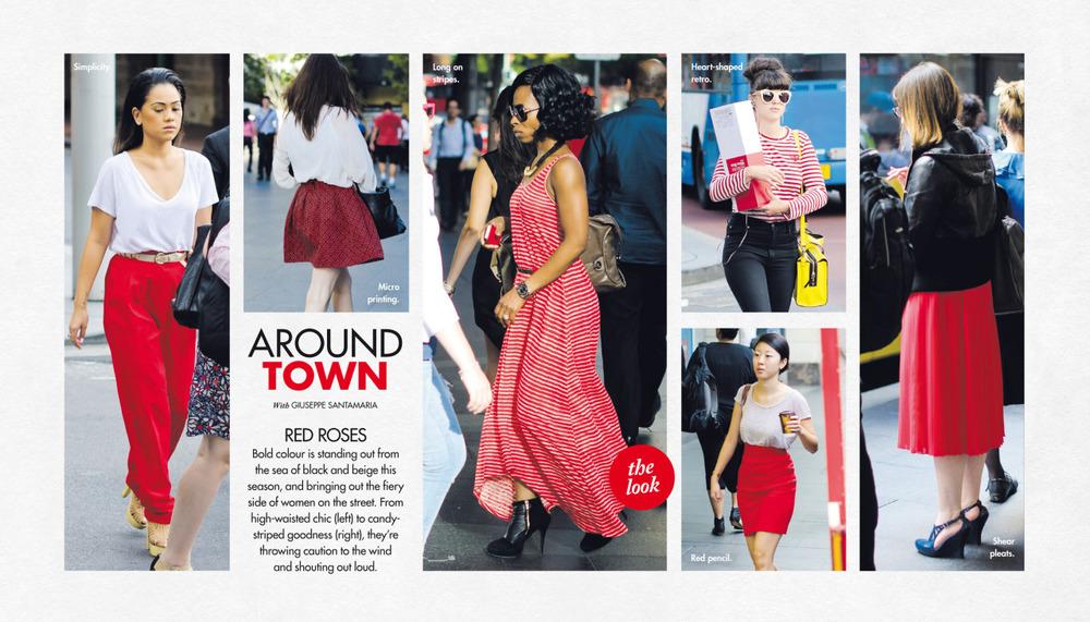 Last Sunday's Around Town in The Sun-Herald's Sunday Life Magazine.