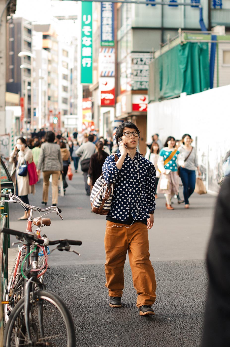 Polka dot street.
