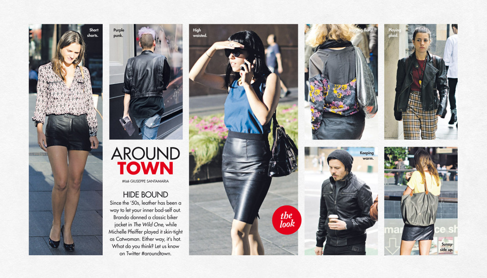 This past Sunday's   Around Town   in The Sun-Herald's  Sunday Life Magazine .