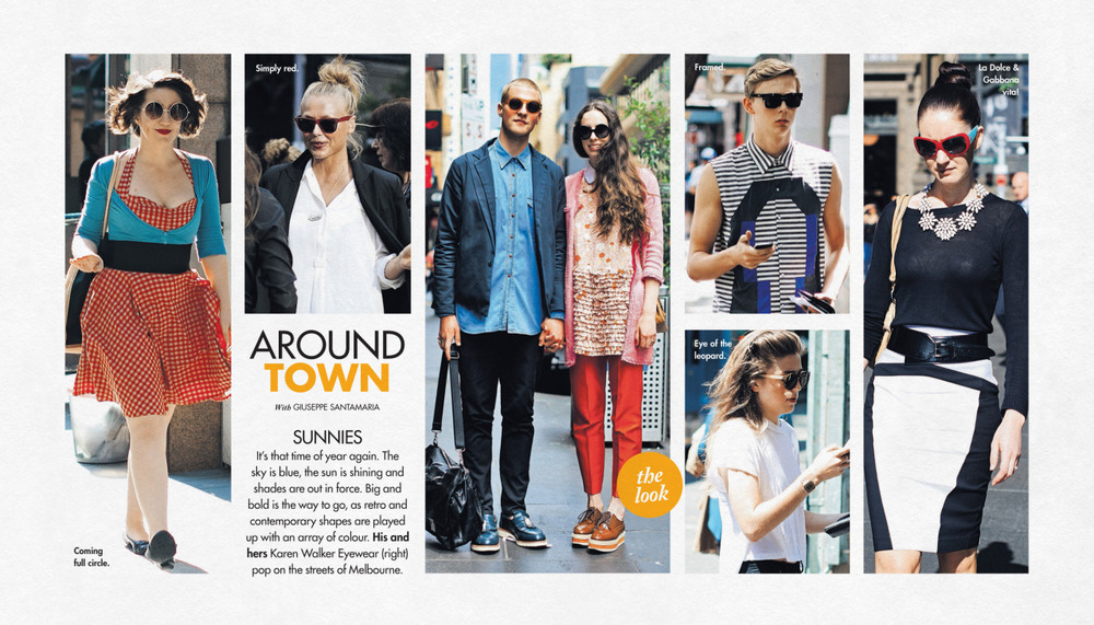 This week's   Around Town   in The Sun-Herald's  Sunday Life Magazine .