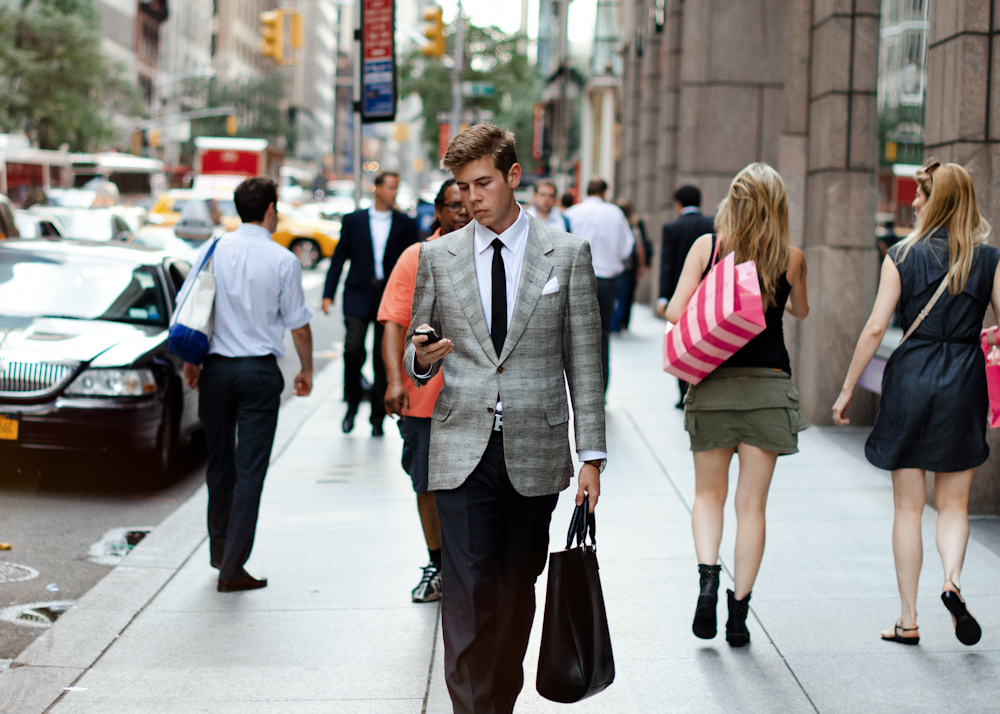 Old soul. Similar look: Paul Smith Abbey Slim-Fit Check Wool Blazer.