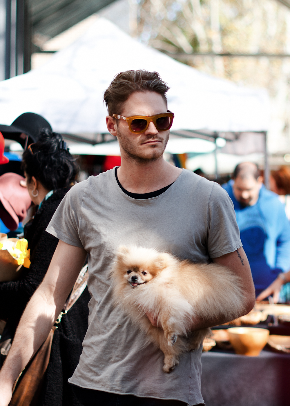Friends at Paddington Market.   Similar look:   KSUBI Dorado Sunglasses in Dark Tortoise  .