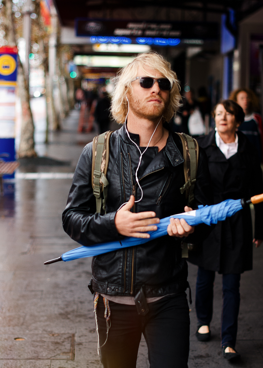 Rain guitar.   Similar look:   Bolongaro Trevor Tougher Leather Biker Jacket  .