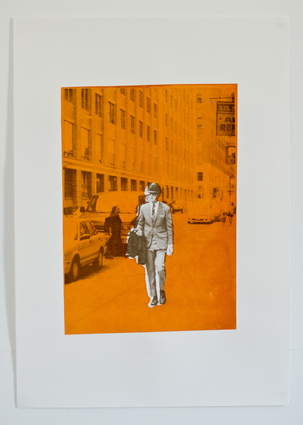 New screen print, photo from  NYFW September 2011 .
