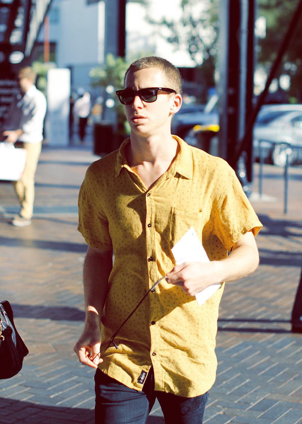 Banana yellow.