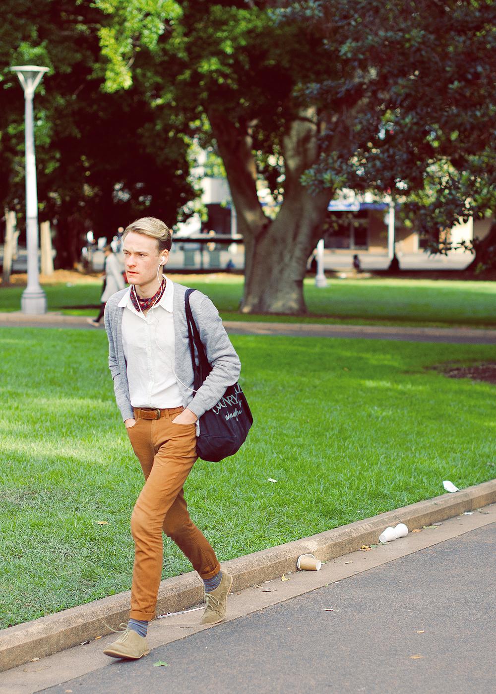 Park stroll.