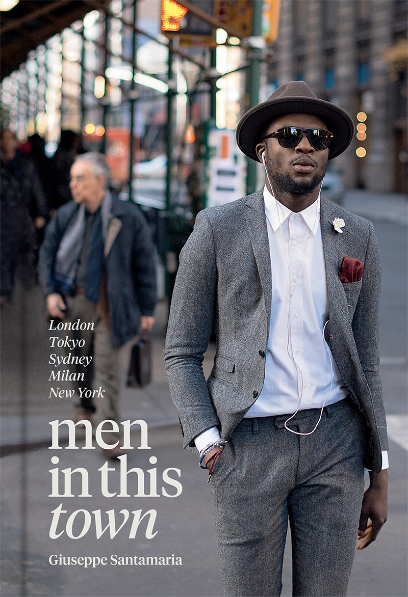 MEN IN THIS TOWN by Giuseppe Santamaria