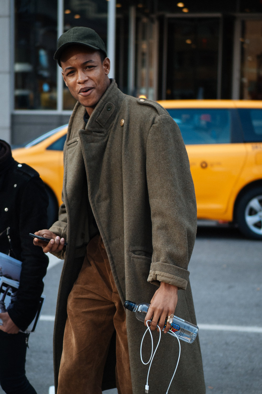 Trenched at NYFW:M, captured on the  Olympus OM-D E-M1 Mark II .