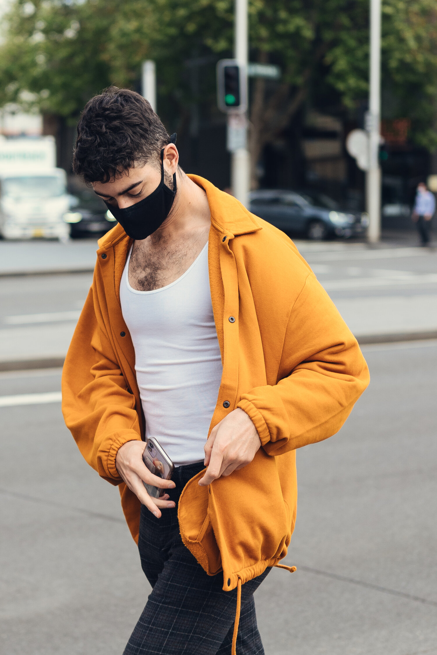 Men In This Town — Canary — Men's Street Style