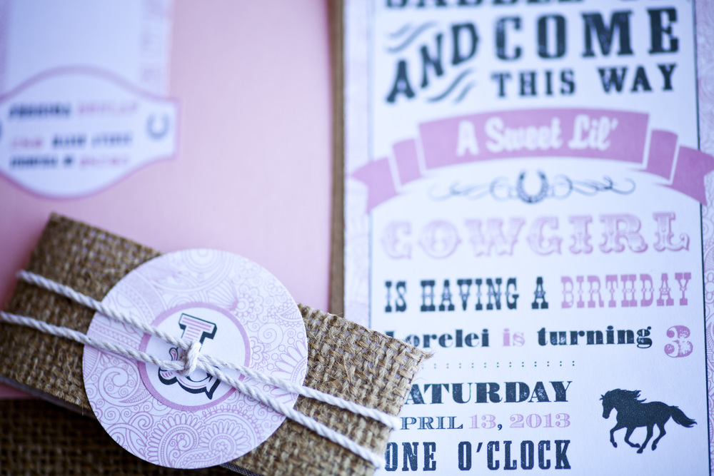 Cowgirl Birthday Party | Newport RI Event Design: www.champagneandink.com Photo: Joseph Laurin Photography | http://www.joelaurinphotography.com/  #newportri #newportparties #champagneandink #joelaurin  #kids #cowgirl #kidsbirthday #pink #western #birthdayparty #balloonwall #kidsparty #girlbirthday #cowgirlinvite
