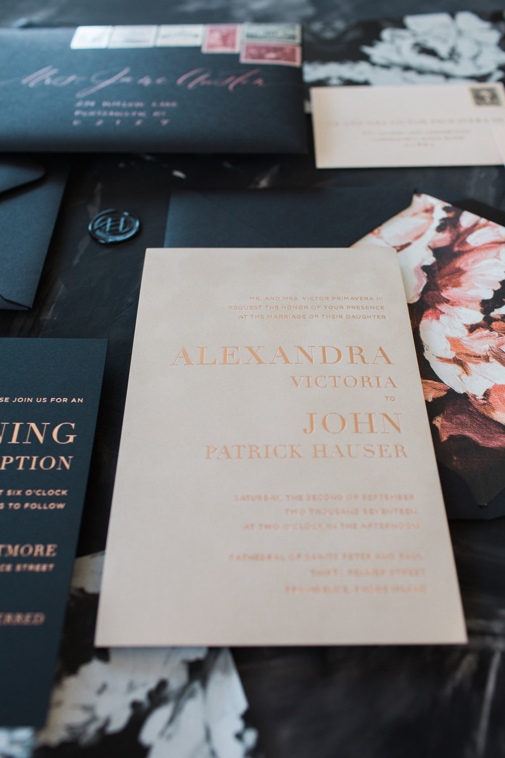 AP_Wedding_Invites_Rose-Gold-Foil-Newport-Moody-Floral-Invitations-champagne-and-ink-Molly-Lo-2.jpg